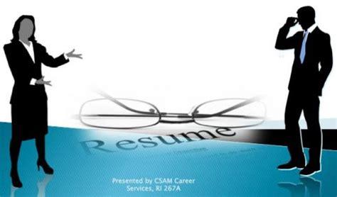 Resume writing workshop com