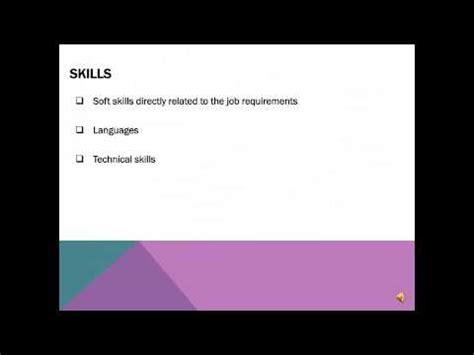 PPT Resume Writing Workshop PowerPoint presentation
